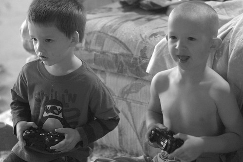 Boys life: friendship and x-box