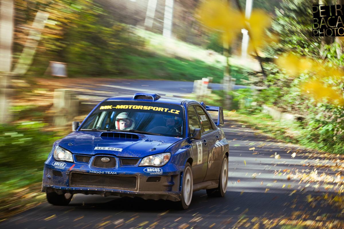 Rallye České Středohoří 2013, Sebuzín, Subaru Impreza WRX Sti