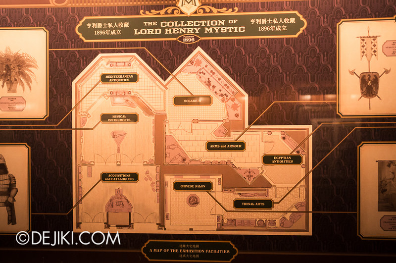 Mystic Manor - Manor Layout