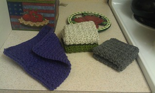 Crochet Durable Dish Cloths Pattern
