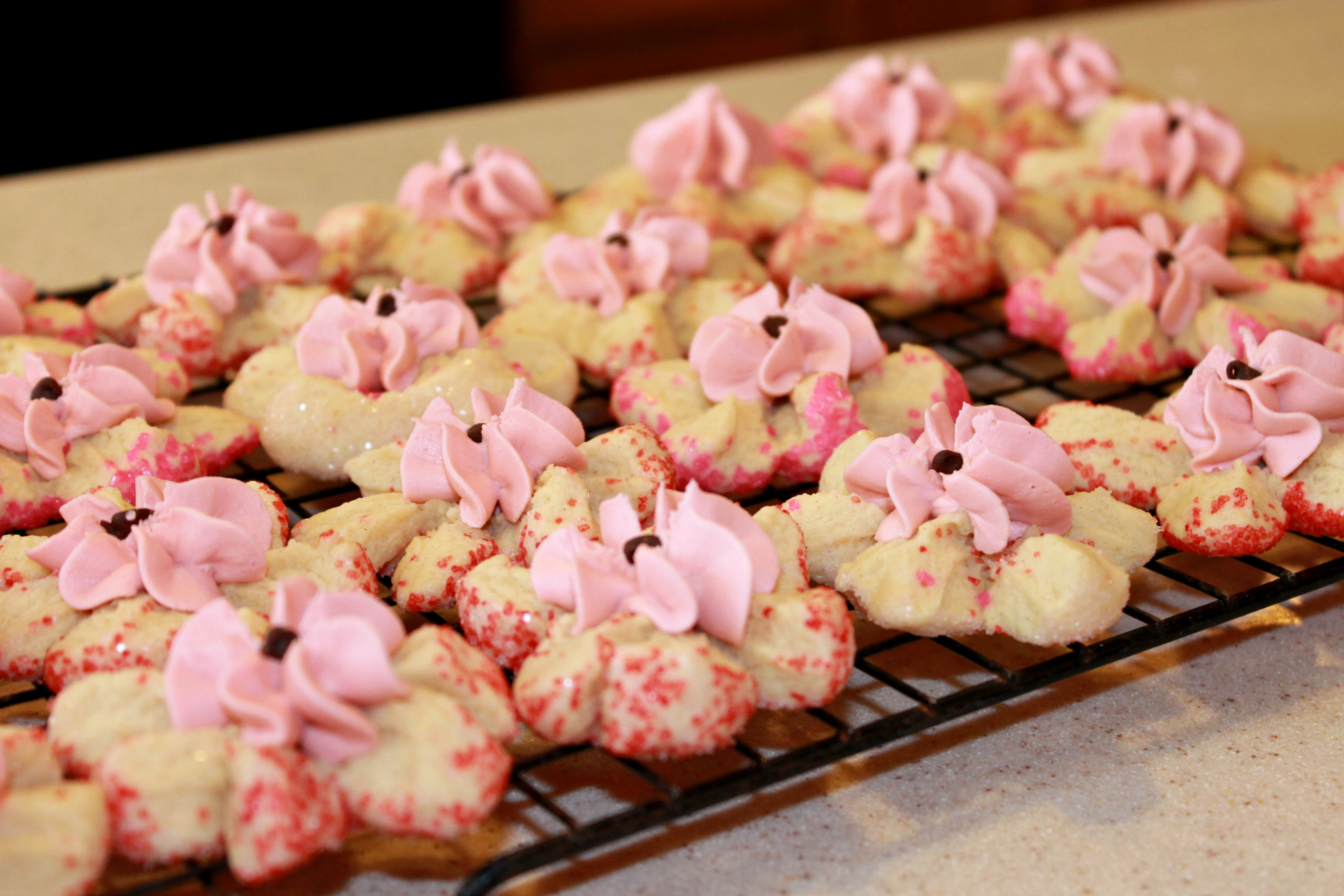 Petal Cookies - Finished