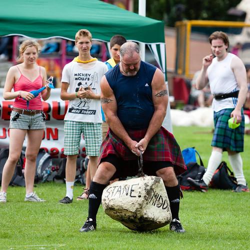 Highland-Games; copyright 2013: Georg Berg