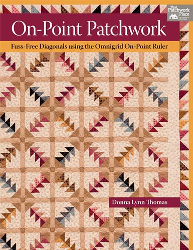 on-pont patchwork by Donna Lynn Thomas