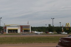 Munford TN McD's, view from Atoka!