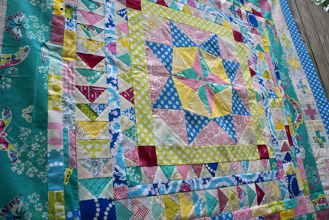 Marcelle Medallion Quilt Top