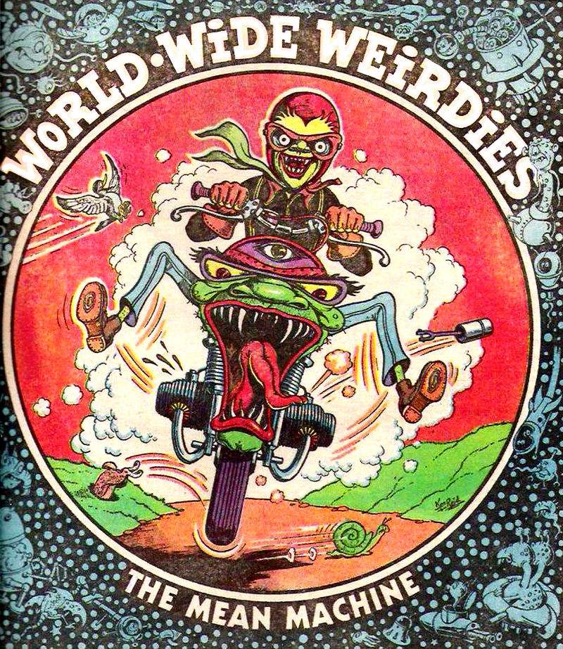 Ken Reid - World Wide Weirdies 108