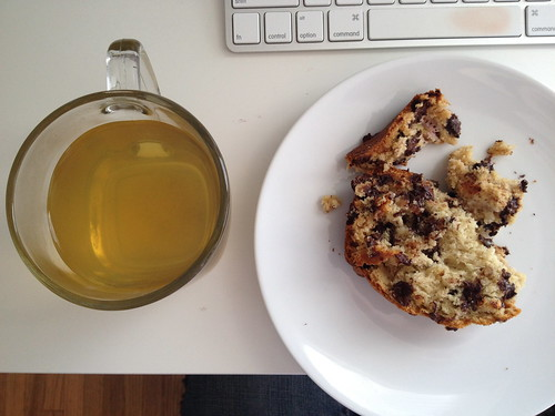 banana bread & tea & quiet