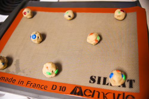 Milk Dunkin M&M Cookies #BakingIdeas #shop
