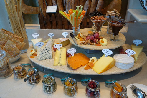Cheese Selection at InterContinental Singapore's Sunday Champagne Brunch