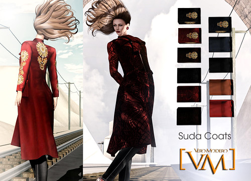 [VM]  VERO MODERO  Suda Coats all patterns by Bouquet Babii