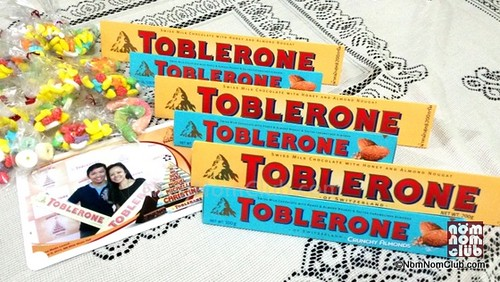 Seats For Two with the Toblerone Goodies