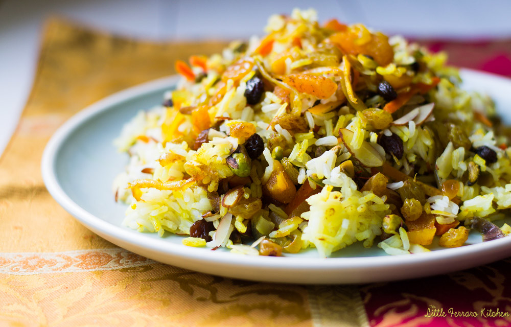 Persian Jeweled Rice via LittleFerraroKitchen.com