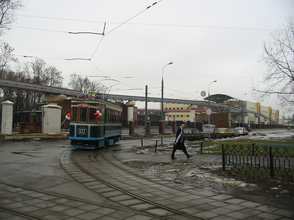 moscow tram BF 932 _20031231_051