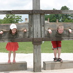 Kids locked up