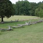A fence on a battle field