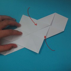 วิธีการพับกระดาษเป็นนกเพนกวิ้น 009