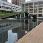 The lake at Lincoln Center