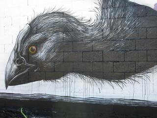 Big walls - street art on Hereford Street