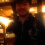 ベルギービール大好き!!ホメル・ビールHommel Bier@ビスカフェ 半田 徹氏