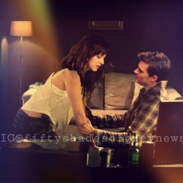 Anastasia steele in 50 shades of grey movie a photo on for 50 shades of grey films