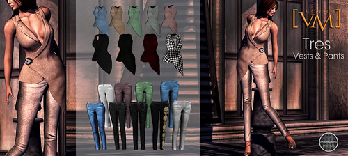 [VM] VERO MODERO TRES Vests & Pants All Pattern
