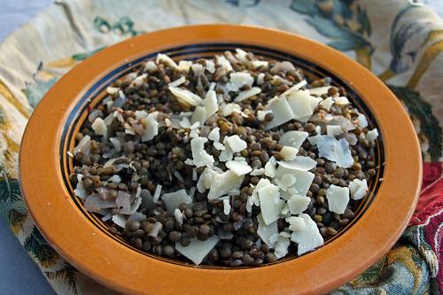 salade de lentilles au raifort