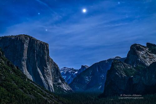 Jupiter Rising - Yosemite National Park