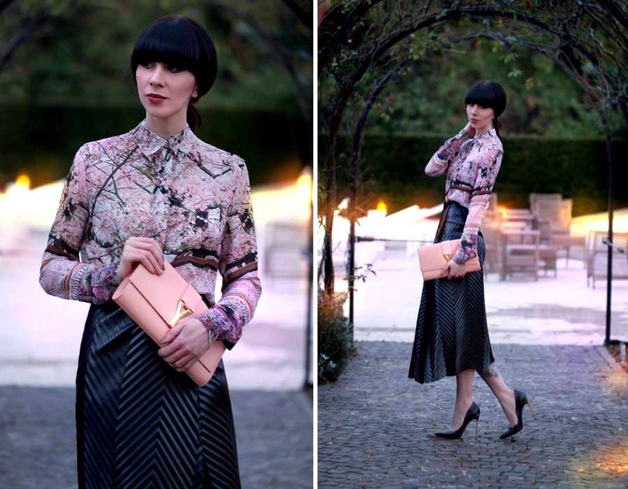 Firenze4Ever Luisaviaroma Saint Laurent YSL Mary Katrantzou Casadei Outfit Stylelab CATS & DOGS Berlin fashion blog 2
