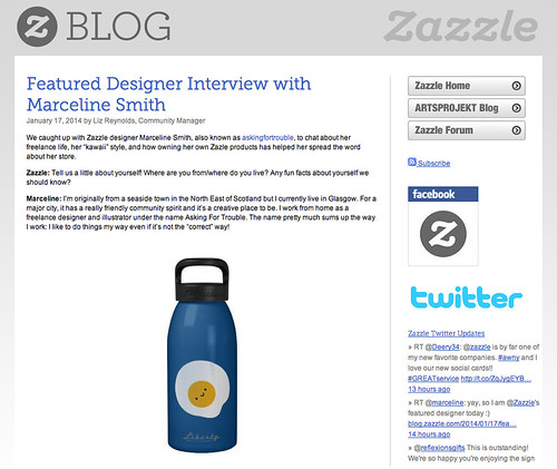 I'm a Featured Designer on Zazzle!