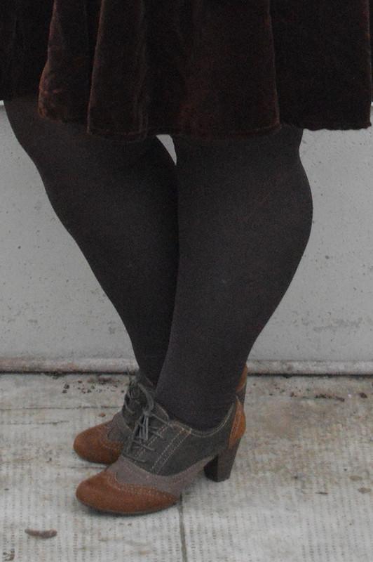 outfit marrone e rosa6