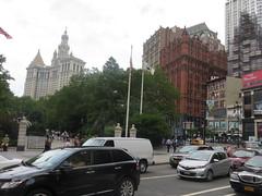 NYC Vacation: City Hall Park Area