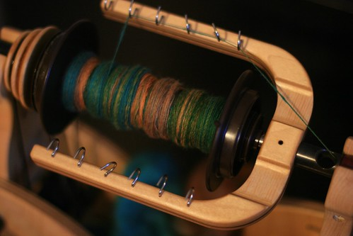 Spinning in progress