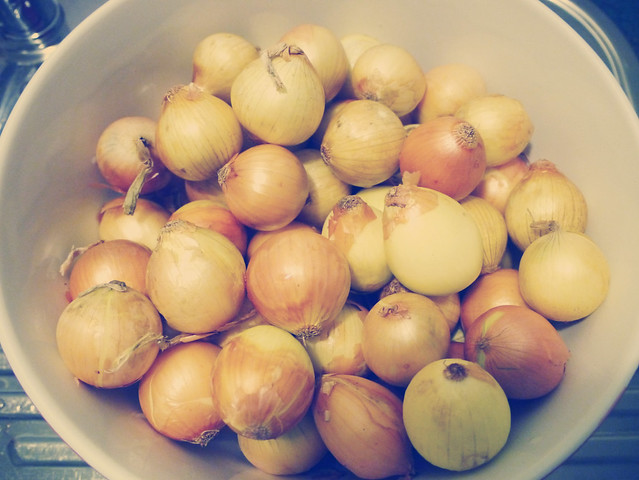 How to make grandma's pickled onions #1