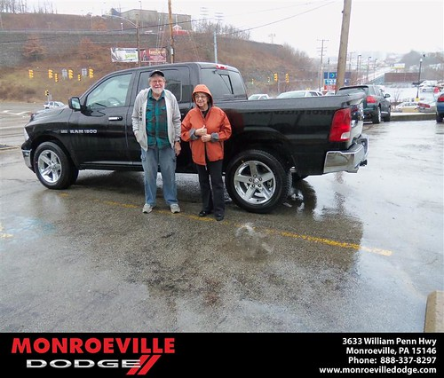 Happy Anniversary to Donna Merle Cooper on your 2012 #Dodge #Ram from Scott Butler  and everyone at Monroeville Dodge! #Anniversary by Monroeville Dodge
