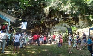 Festa aconteceu na gruta de Nossa Senhora de Lurdes.