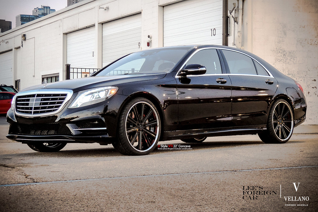 Mercedes benz s550 l vellano vti 22 concave for Mercedes benz forum s class