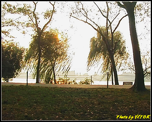杭州 西湖 (其他景點) - 280 (在西湖十景之 蘇堤 上看西裡湖的黃昏)