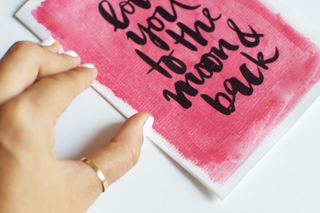 Diy Watercolour Valentine S Cards A Pair A Spare