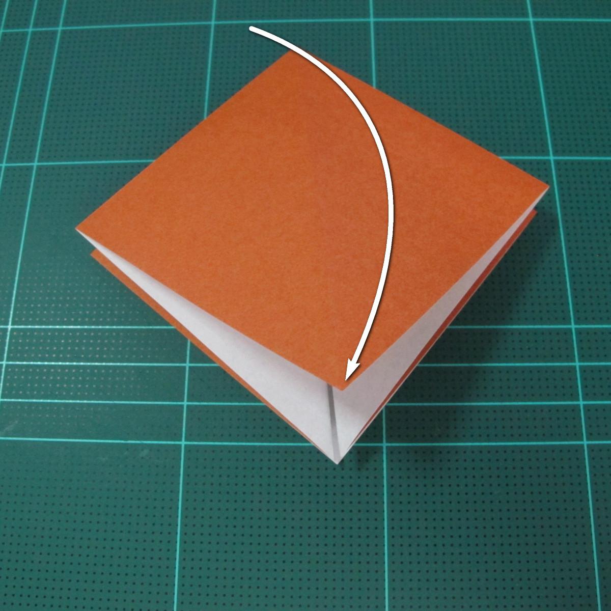 การพับกระดาษเป็นที่คั่นหนังสือหมีแว่น (Spectacled Bear Origami)  โดย Diego Quevedo 005