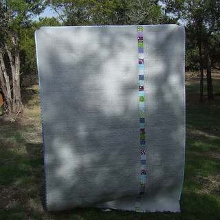 Back View of Lucky Stars Quilt
