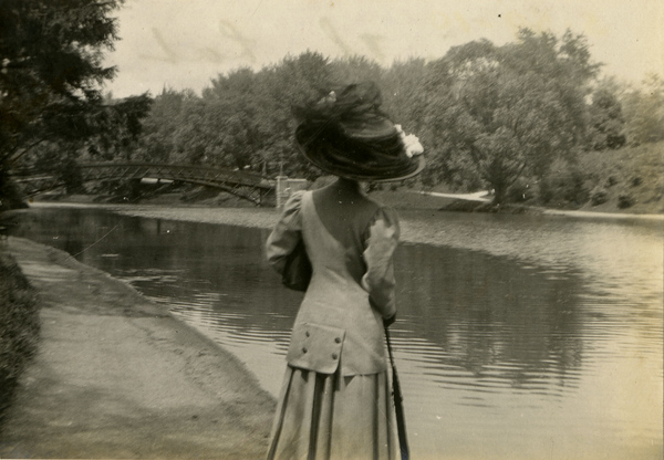 Annie Ray Andrews at Washington Park in Albany, New York