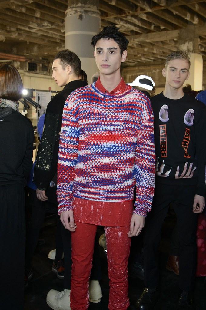 Dominik Sadoch3061_4_FW14 Paris Raf Simons_Charlelie Benke(fashionising.com)