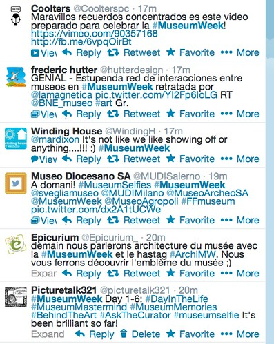 twitterfeed museumweek j