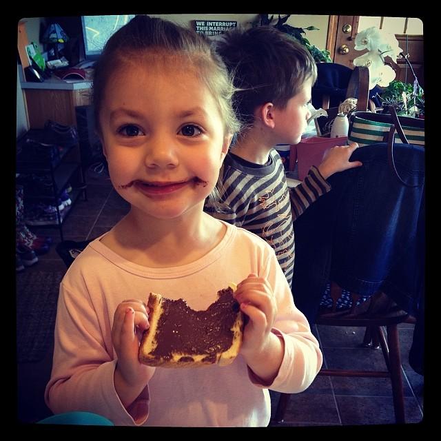 It's Nutella ya'll. #shelovedit #nutella #100happydays #day15