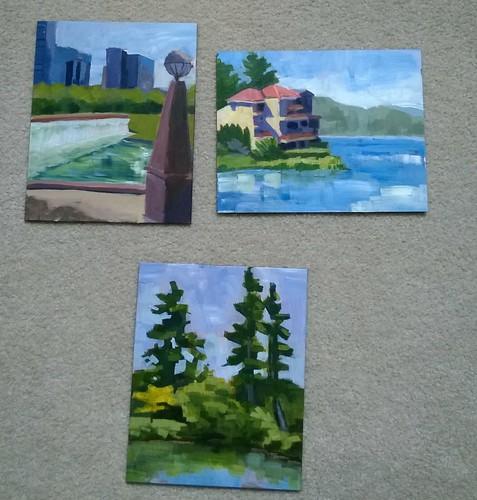 Bellevue Paintout Paintings