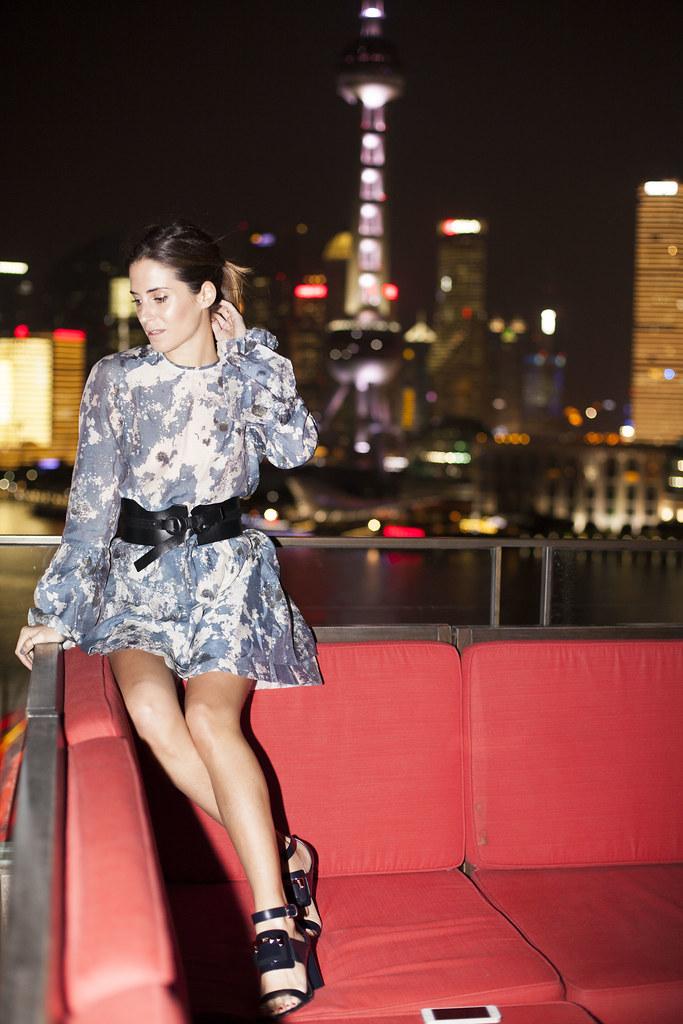 Gala Gonzalez en Shanghai