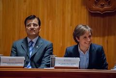Carmen Aristegui recibe el galardón 'Corazón de León' ⑤