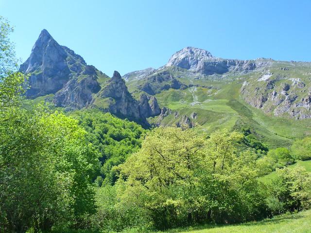 Paisajes de Picos de Europa (Cantabria, España)