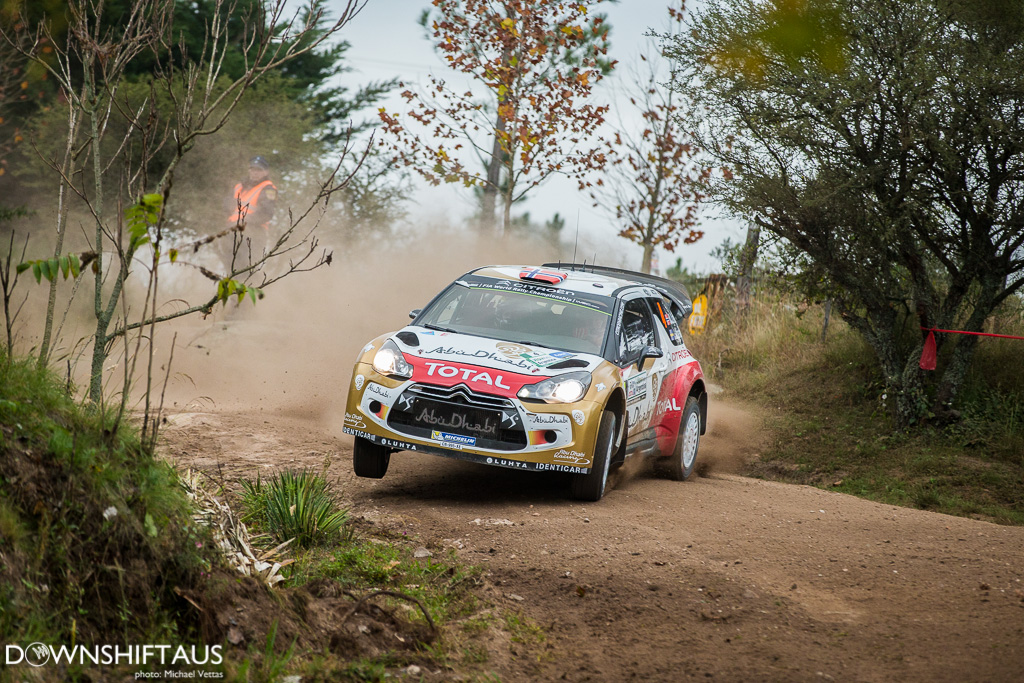 WRC Teams compete in shakedown of Rally Argentina 2014