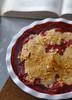 Crumble Fragole, Banana e Mandorle